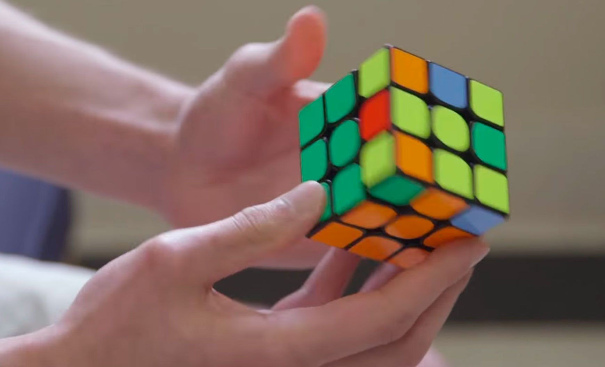 Rubiks kube 2x2 løsning