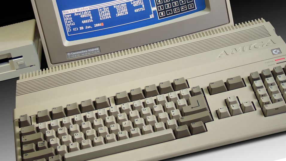Amiga fyller 30 år i dag