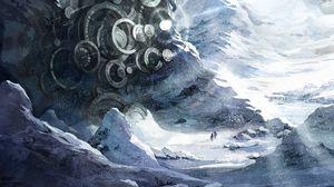 Et konseptbilde fra det nye spillet.