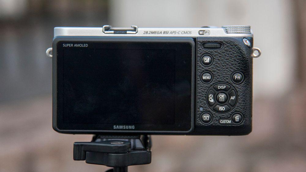 Samsungs NX500 mangler søker.