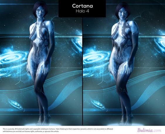 Cortana fra Halo 4.