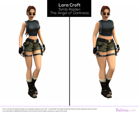 Lara Croft - Tomb Raider.
