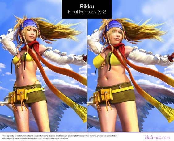 Rikku fra Final-Fantasy X 2.