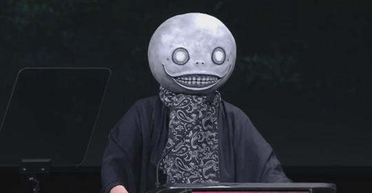 Øystein var fornøyd med Square Enix i år. Her annonserer de Nier 2.