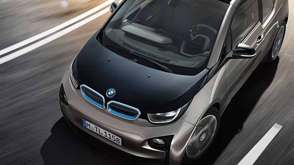 Apple-bilen kan bli basert på BMWs elbil