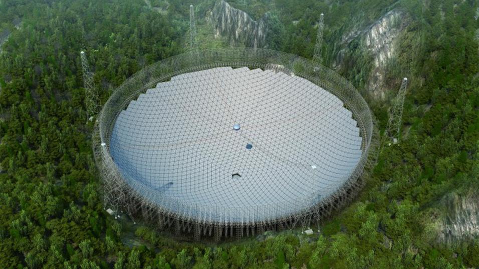 Kunstnerisk illustrasjon av hvordan teleskopet blir seende ut.
