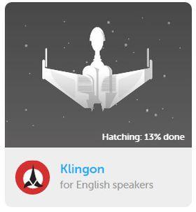 Har du lyst til å lære Klingon?
