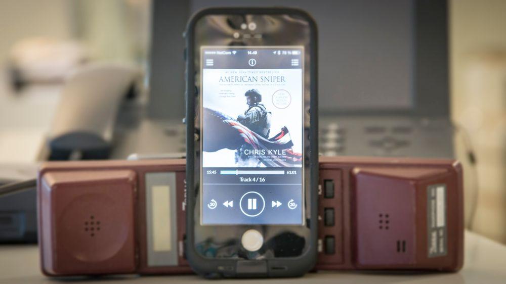 Vi tester lydbøker på smarttelefonen