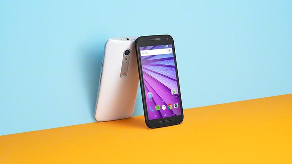 Nye Motorola Moto G.