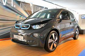 Elbiler kommer i mange varianter. Dette er BMWs i3.