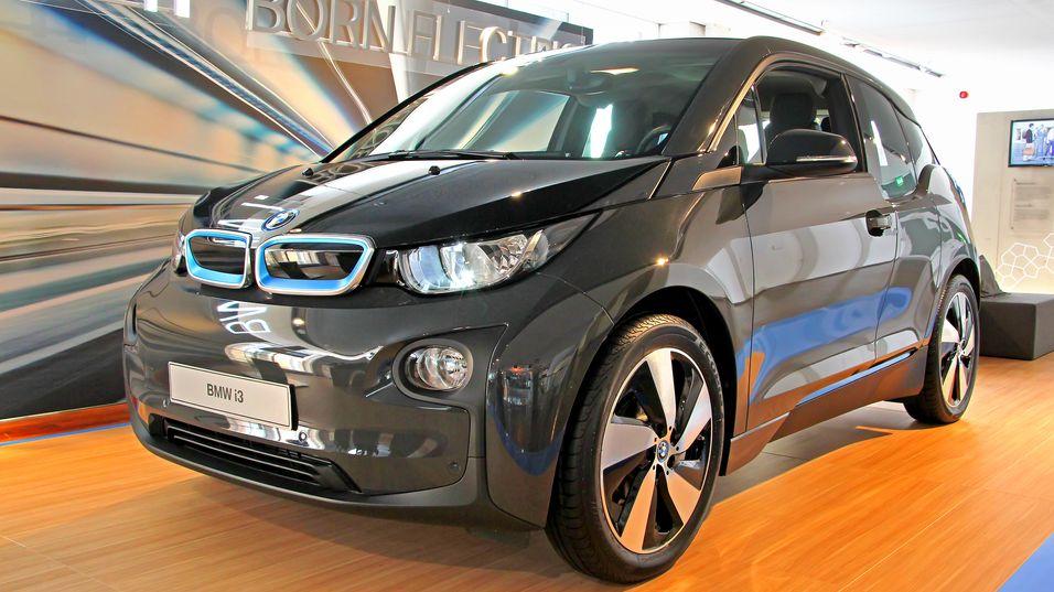 Apple vil kanskje hente inspirasjon fra denne bilen, BMW i3.
