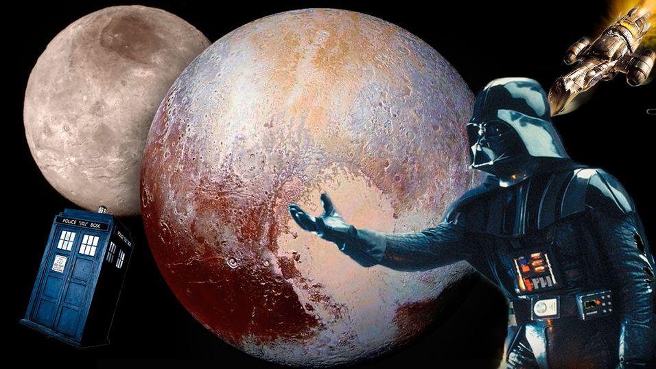 Pluto og månen Charon kan bli de mest nerdete himmellegemene i solsystemet.