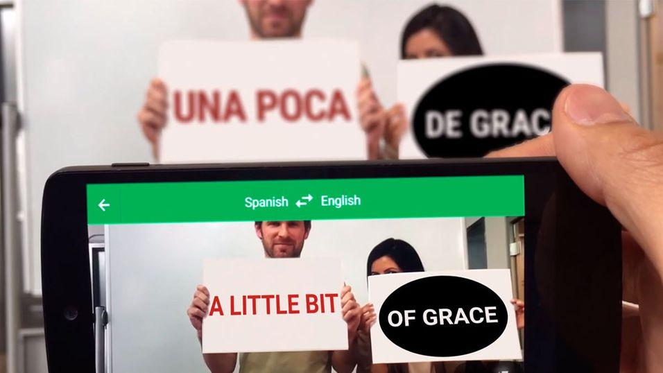 Nå kan du oversette skilt på under ett sekund