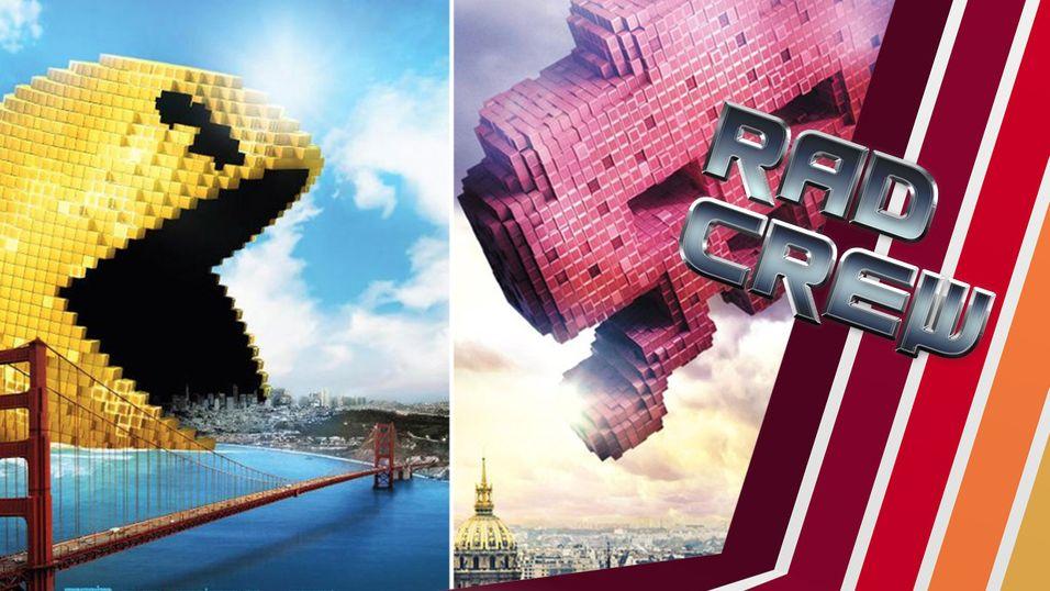 PODKAST: Pixels-filmen er elendig, så Rad Crew har noen alternativer til deg