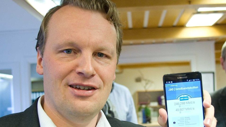 Teknisk direktør Jon Christian Hillestad i Telia er i mål med dekningskravet, to og et halvt år før tida.