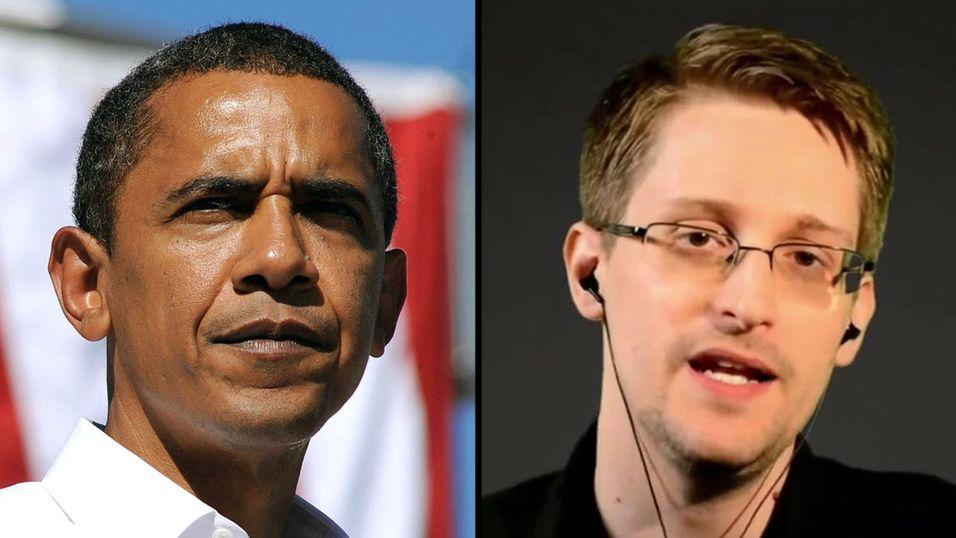 President Obama kommer definitivt ikke til benåde Snowden