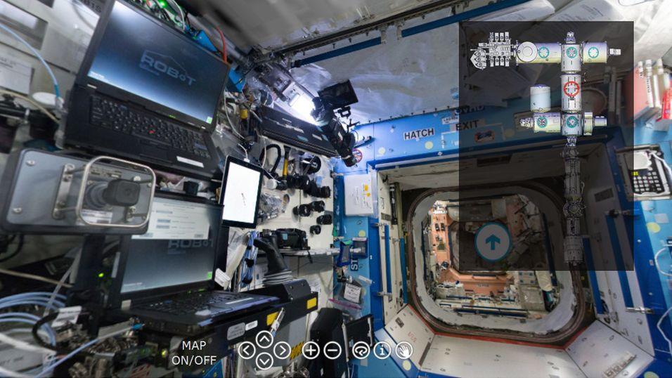 Besøk romstasjonen ISS fra PC-en din