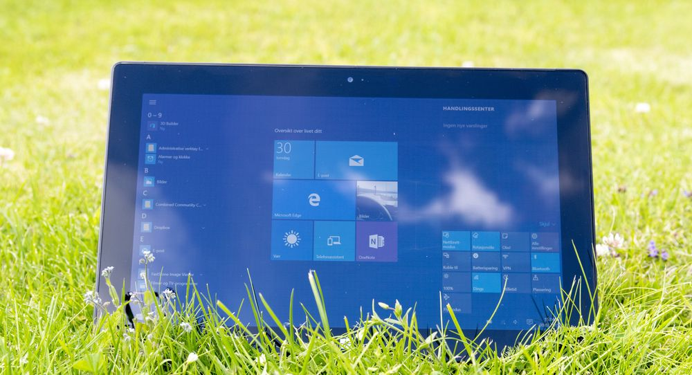SNIKTITT: Slik oppfører nye Windows seg på nettbrett