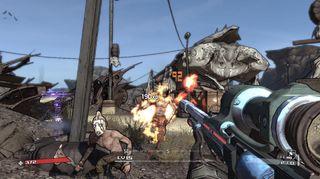 Borderlands blei vist fram på Xbox One.