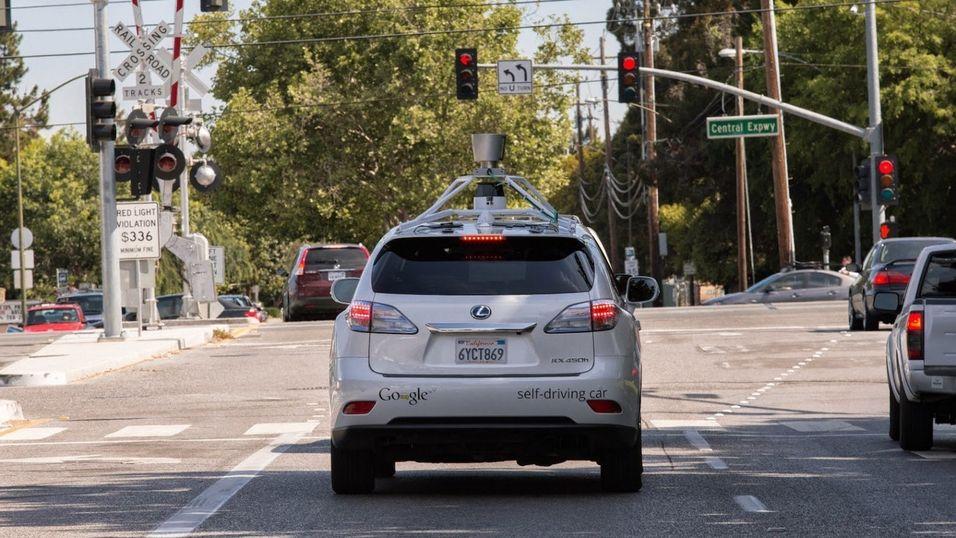 Selvkjørende bil fra Google.
