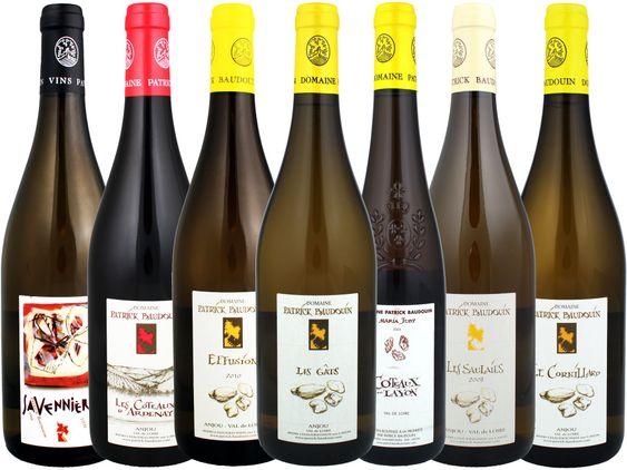Det finnes enda flere viner fra Patrick Baudouin, men det er bare disse som er i Norge.