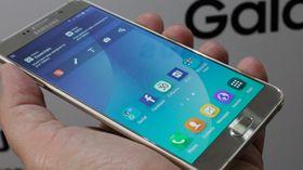 Samsung Galaxy Note 5 har ennå ikke kommet til Europa.