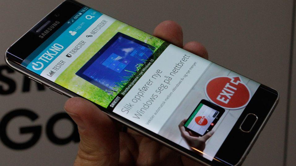 S6 Edge Plus ser ut til å få en litt større, kurvet storebror.
