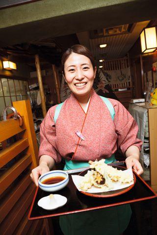 Soba med tempurareker er en av favorittene.