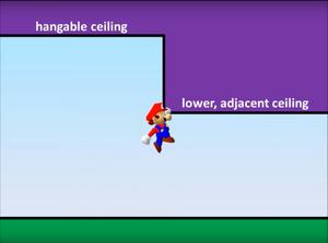 Her demonstrerer pannenkoek20012 hvordan man vanligvis warper slik i Super Mario 64.