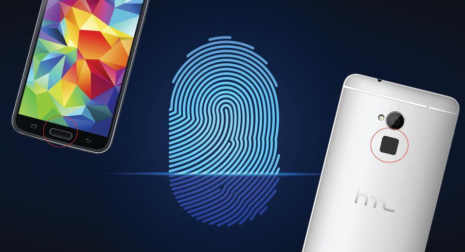 Hvilken av Android-telefonene med fingersensor som er minst sikker ville ikke hackerne ut med, men de klarte å lese av fingeravtrykk rett fra sensorene i Galaxy S5 og One Max.
