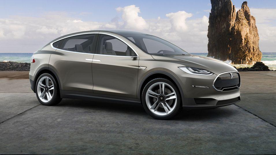 Tesla Model X kommer snart på veiene.