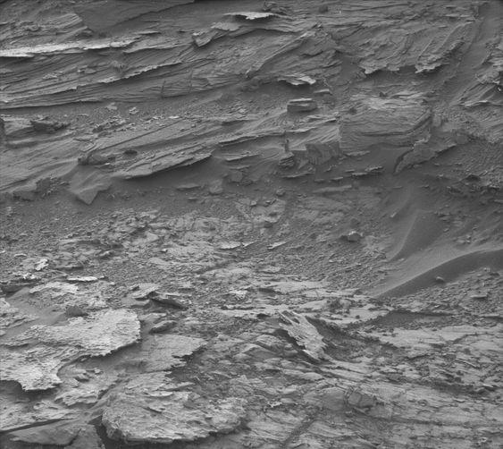 Det spøker (antakeligvis ikke) på Mars.