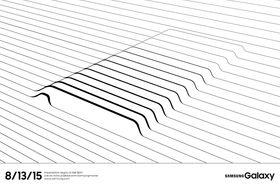 Dette er Samsungs teaser-bilde av det vi må anta er Galaxy Note 5.