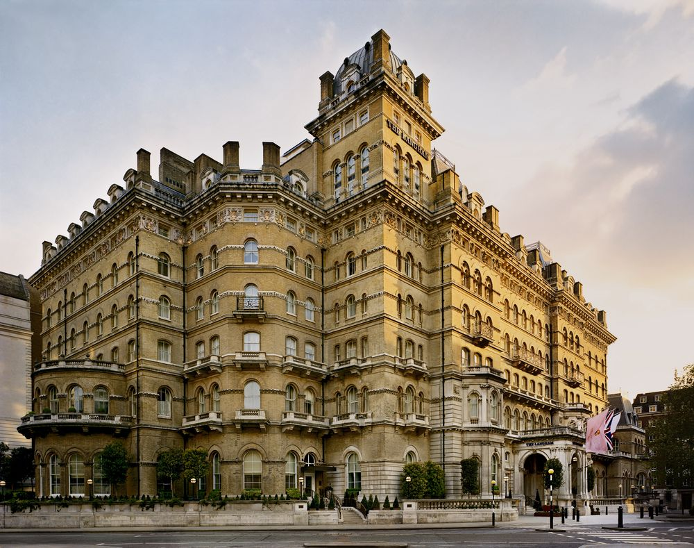 Langham Hotel er en institusjon i London.