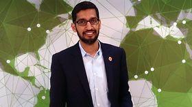 Sundar Pichai blir den nye toppsjefen i Google.