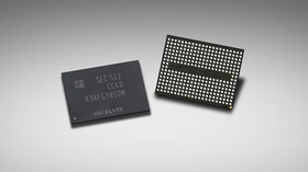 De nye V-NAND-brikkene til Samsung, som den nye SSD-en er bygget med.