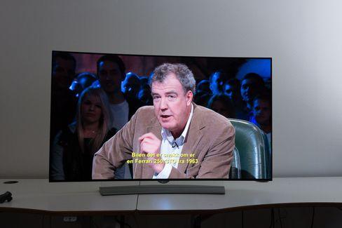 TV-en oppskalerer bra. Selv Clarkson ser skarp ut.
