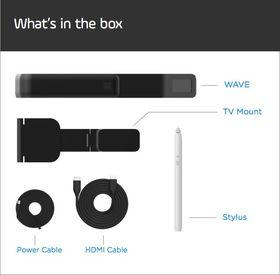 Dette følger med i boksen når du kjøper produktet.