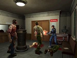 Slik så Resident Evil 2 ut da det kom i 1998.