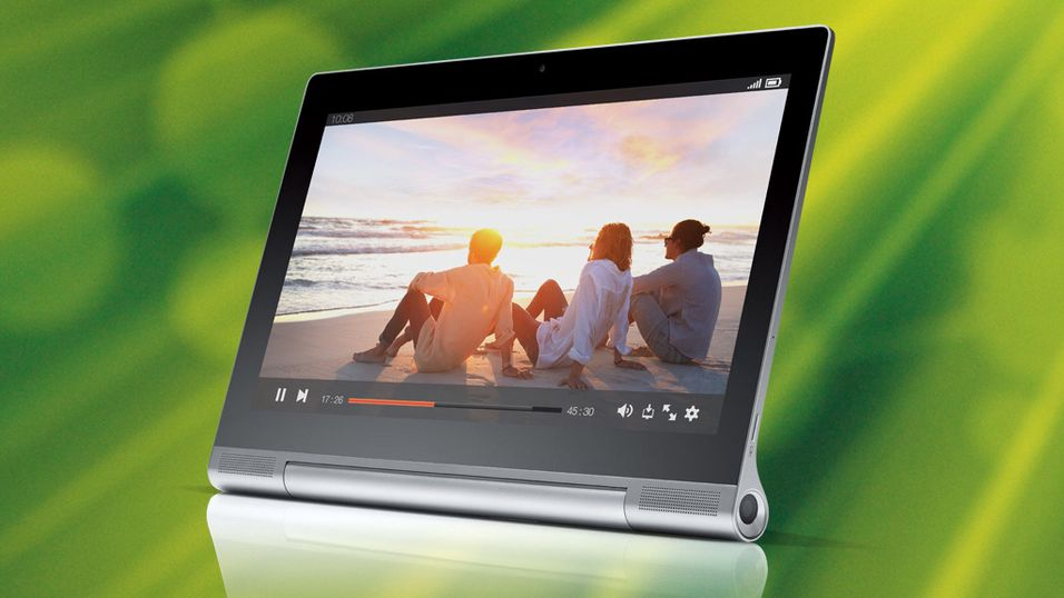 KONKURRANSE: Nå kan du vinne Lenovos projektor-nettbrett