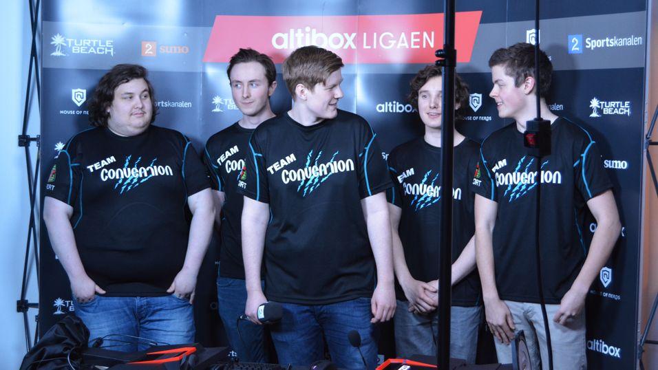 Team Convention er et av de norske lagene som deltok i Altiboxligaen.