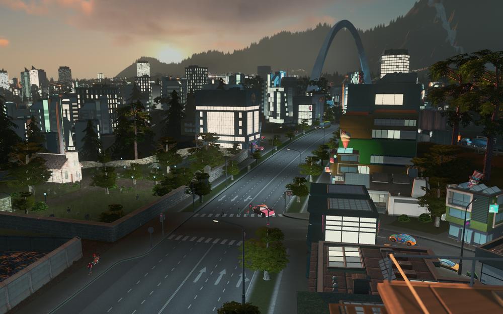 SNIKTITT: Cities: Skylines After Dark