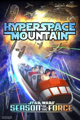 «Hyperspace Mountain» kommer først.