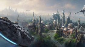 Konsept-tegning for den kommende Star Wars-verdenen.