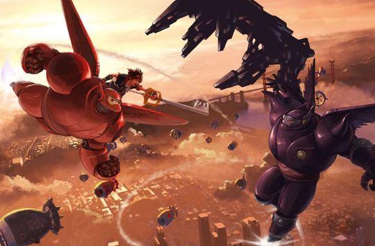 Det første glimtet av Baymax i Kingdom Hearts.