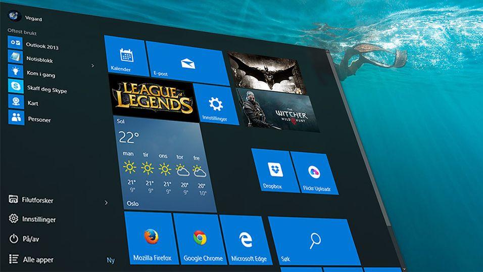 Leste du igjennom brukervilkårene til Windows 10 før du installerte?