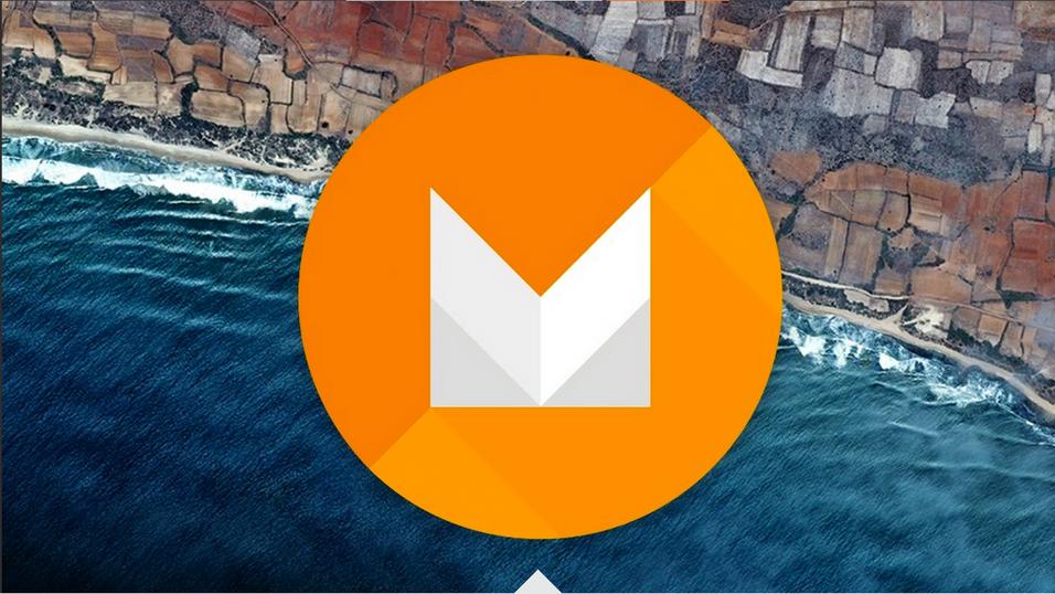 Android Marshmallow-logoen, slik den ser ut i Samsungs grafikk.