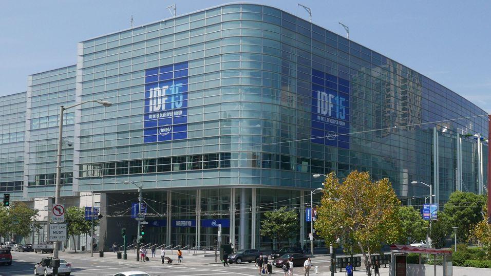 IDF avholdes i hovedsak på Moscone Center, som er San Franciscos største konferansesenter.