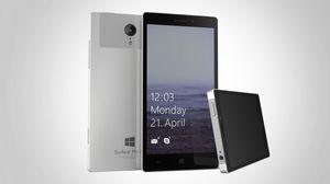Dette bildet er en konsepttegning av det som kan bli Windows Surface Phone, som ifølge de ferske ryktene kan få litt mindre fokus på spesifikasjoner.