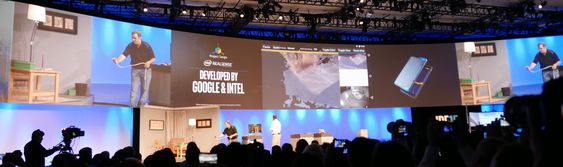 Googles Project Tango med Intel RealSense.